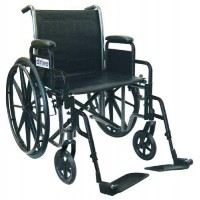 Wheelchair 16  Rem Desk Arms w/Swing-Away Footrests