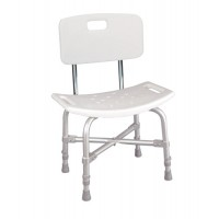 Bath Bench - Heavy Duty With Back  Bariatric (Assembled)