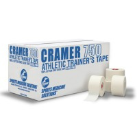 Athletic Tape Cramer 750 White Case/32 Rolls  1.5 x15 yd/Roll