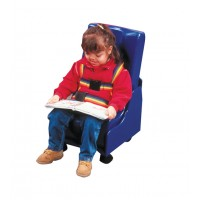 Skillbuilders� 2-piece Mobile Floor Seat  Large w/Wood Base