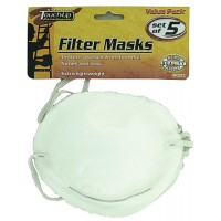 Filter Masks (Pk 5)Dome-Shaped