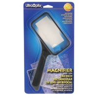 Magnifying Glass 2 X4  Rectangular