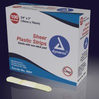 Adhesive Bandages Sterile Butterfly 1/2 x2-3/4  Bx/100