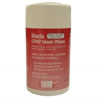 CPAP Mask Wipes  Mada Unscented  Tub/62