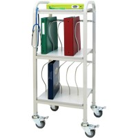 Chart Cart  10-2  Binder Capacity