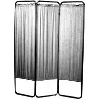 Three Panel Privacy Screen Without Wheels