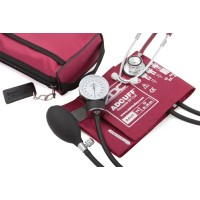 Aneroid Blood Pressure with Dual Head Stethoscope  Magenta