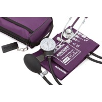 Aneroid Blood Pressure with Dual Head Stethoscope  Purple
