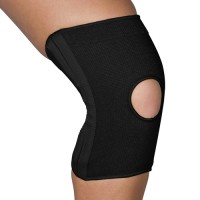 Blue Jay Slip-On Knee Support Open Patella w/Stabilizers Lg