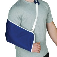 Blue Jay Universal Arm Sling with Shoulder Comfort Pad-Blue
