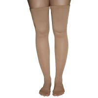 Anti-Embolism Stockings  Small 15-20mmHg Thigh Hi  Closed Toe