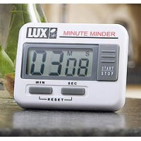 Lux Timer Count Up/Count Down Electronic Minute Minder Timer