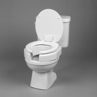 Elevated Toilet Seat Secure-Bolt  Bariatric