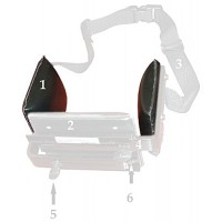 Side Pad only  each  for KA1050 Pelvic Stabilizer