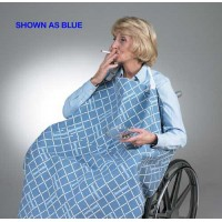 Smoker's Apron for Wheelchair Blue  30 L x 32 W