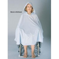 Wheelchair Shower Poncho w/o Hood